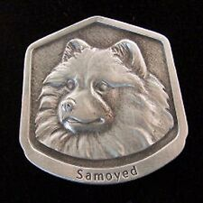 Samoyed Fine Pewter Dog Breed Ornament