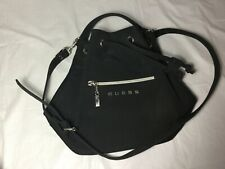 Guess drawstring handbag black