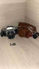 Exakta Varex IIa Version 5 Ihagee SLR Camera# 869944 Meyer Optik Domiplan 2.8/50