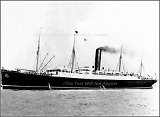 Photo: A Good View Of The RMS Carpathia At Sea - Heroic Titanic Rescue Ship