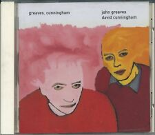 JOHN GREAVES & DAVID CUNNINGHAM Greaves Cunningham - Piano 506 - MINT UK 1997 CD