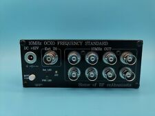 10mhz Ocxo Frequency Standard Clock Frequency Reference 10mhz10dbm 8 Ch Output