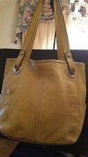Fossil Leather Hathaway Carryall Tote Bag