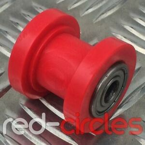 RED 8mm PIT BIKE CHAIN ROLLER / GUIDE FITS 125cc 140cc 160cc PITBIKES