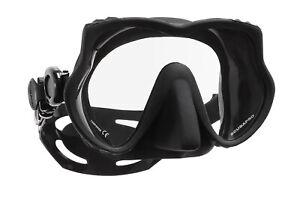 Devil Tauchermaske Taucherbrille Maske schwarz - Scubapro