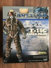 NEW BBI ELITE FORCE AVIATOR F-15C EAGLE PILOT VIPER 1:6 SCALE FIGURE