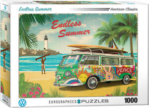 VW Bus Endless Summer 1000-Piece Puzzle by Eurographics