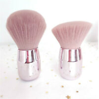 Make Up Powder Brush Large Soft Blush Flame Brushes Foundation Cosmetic Tool Q