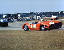 Vintage Color 8X10 Racing Photo 1965 Daytona Ferrari 365 P2 John Surtees