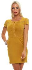 5683 Kurzarm Minikleid Shirt-Kleid Kettchen im Rückenteil