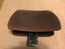 1988 Classic Saab 900 Hatchback Burgundy Cloth Front Seat Head Rest