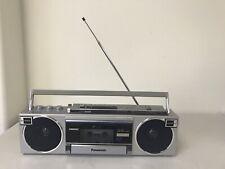 Vintage Panasonic RX-F2 Ambience Mini Boombox With Cord