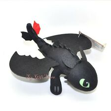 "How To Train Your Dragon 2 ~ TOOTHLESS Night Fury Plush toy doll Figure 8"" #2"