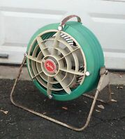 VINTAGE LE JOHN INDUSTRIAL ELECTRIC FAN * WORKS