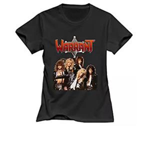 Women's Warrant T-Shirt Black US 100% Cotton