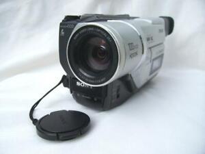 Sony DCR-TRV120E Digital8 Camcorder. PAL. Hi8/Video8 Pback. AV/DV-out.1 yr wrnty
