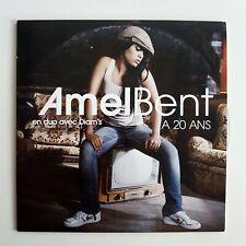 AMEL BENT ft. DIAM'S : A 20 ANS ♦ CD Single Promo ♦