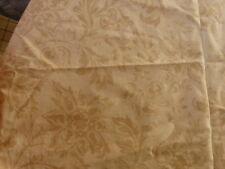 TISSU ANCIEN décor de fleurs feuilles d'acanthe 2.36X1.36m rideaux ammeublement