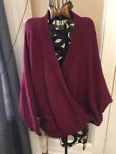 Fashion Nova Sweater Large Burgundy Backless Super Sexy! EUC Wear Once!!