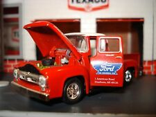 1956 FORD F-100 PICKUP TRUCK LIMITED EDITION HOT ROD  PICK EM UP TRUCK 1/64 M2