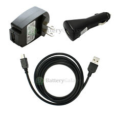 NEW USB Cable+Car+Wall Charger for GPS Garmin Nuvi 250 760 1300 1450T 2,000+SOLD