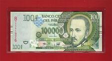 2004 PARAGUAY 100,000 GUARANIES 100000 BANK NOTE BANKNOTE CU CRISP UNCIRCULATED