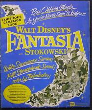 Walt Disney's Fantasia, 1950's re-release Pressbook