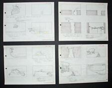 Signed Friz Freleng Pink Panther Storyboard Set 7, 1967