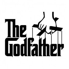 "The GODFATHER Vinyl Decal Wall Sticker Graphics - 24"" Wide!"