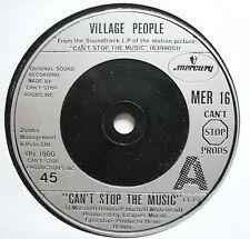 "VILLAGE PEOPLE-CAN 'T STOP THE MUSIC-EX UNIQUE 7"""