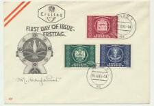 AUSTRIA 1949 UPU SET ON FIRST DAY COVER, GRAZ CDS (SEE BELOW)