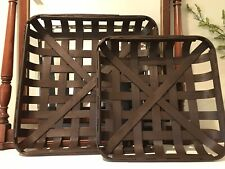 Expresso TOBACCO BASKET ~Small Basket Only ~ Farmhouse Chic Decor!
