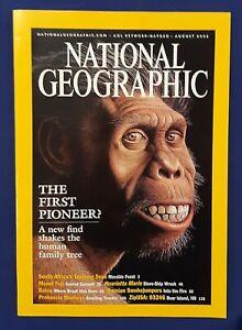 National Geographic Magazine-August 2002-The First Pioneer-Proboscis Monkeys