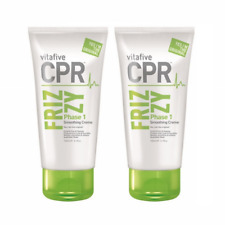2 x Vita 5 CPR Frizzy Phase 1 Smoothing Creme 150ml (VitaFive) Sulphate Free