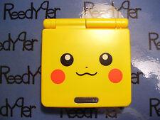 Gameboy Advance SP AGS-101 *MINT* Pokemon Pikachu Yellow version Nintendo system