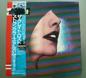 The Stranglers The Great lost Stranglers Album continued Japanese lp insert OBI