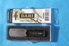 Bari Star Series Synthetic Alto Sax Reed, Medium Hard, Warmer, Darker, BSASMH