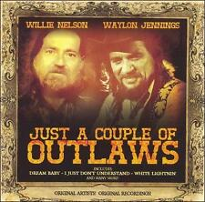 Willie Nelson Waylon Jennings Just a Couple of Outlaws CD Big mamou Dream Baby