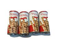 4 Pack Pirouline Creme Filled Hazelnut Rolled Snack - 3.25 Oz