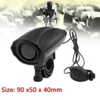 Ultra-loud Speaker Black Electronic Bicycle 6 Sound Alarm Bells Bike Siren Horn