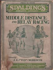Vintage 1924 Spalding's Middle Distance and Relay Racing No. 502 B Guide