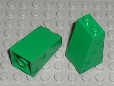 LEGO Star Wars Green slope brick ref 3684 / set 7144 1354 4406 3600 ...
