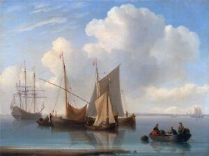 Maritime Marine Art Dutch Sailing Vessels Anderson William 1814