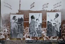 "JIMI HENDRIX ""3 SHOTS OF JIMI AT WOODSTOCK"" POSTER - Leonard J. Eisenberg Photos"