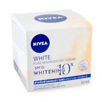 Nivea white pore minimiser day cream SPF15 whitening 10X reduce dark spots 50 ml