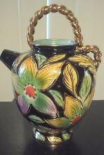 Faïence aardewerk Hubert BEQUET QUAREGNON vase - cruche - vaas - werper