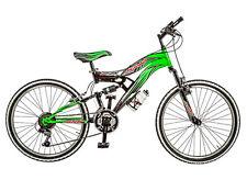"""Bicicletta MTB Full suspension GALANT 12 ragazzo 24"""" acciaio cambio 18 V bike"""