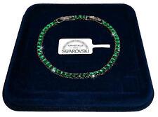 Finissimo Bracciale Tennis 3mm pl. oro bianco 18k uomo donna,braccialetto  SW/65