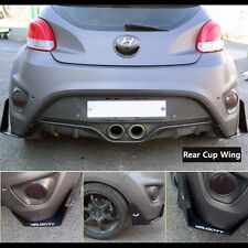 Morris Club Rear Canard Wing Cup Splitters for Hyundai Veloster Turbo