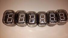 IV-22 IV22 Big 7-Segment VFD nixie tubes.NOS.NEW!!! Lot 6pcs.